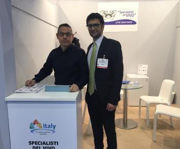 Luigi Savino e Valerio De Gruttola dello staff di Specialisti del Vivo