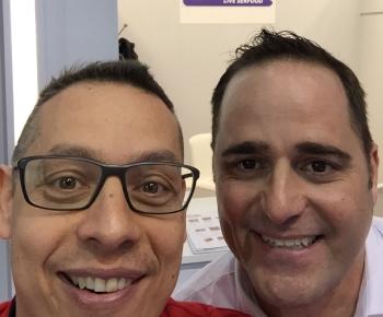 Luigi Savino e Matt Gallucci della ditta Main Coast USA