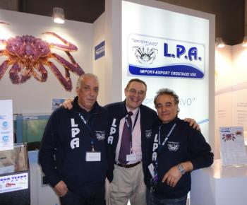 Giuseppe Biondi, Phil Dunkelbarger (North American Imex) e Antonio Buldrini