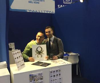 Nassos Zempiloglou general manager di Aegean Gourmet e Luigi Savino general manager di SDV